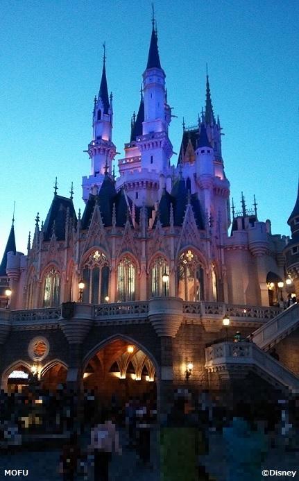 ひとりディズニー:シンデレラ城