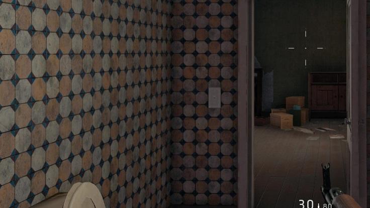 パブジー家屋のタイル