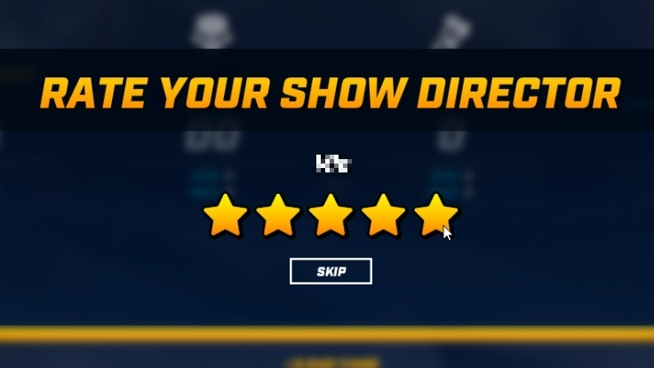 RATE YOUR SHOW DIRECTOR