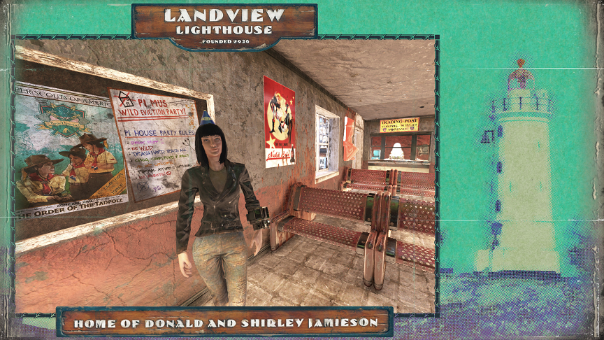 【Fallout 76】Greaser jacket and jeans