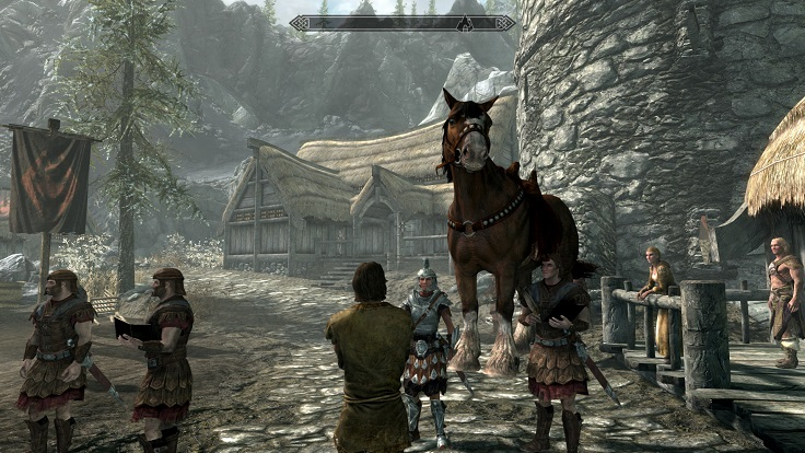 Skyrim character creation horse glitch